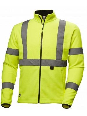 Helly Hansen 72171, Warnschutz Fleecejacke EN ISO 20471, ALTA, gelb