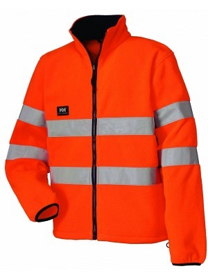 Helly Hansen 72370, Warnschutz Fleecejacke EN471, BROOKS, orange **nur solange Vorrat**