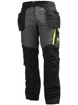 Helly Hansen 77401, Arbeitshose AKER, schwarz/grau