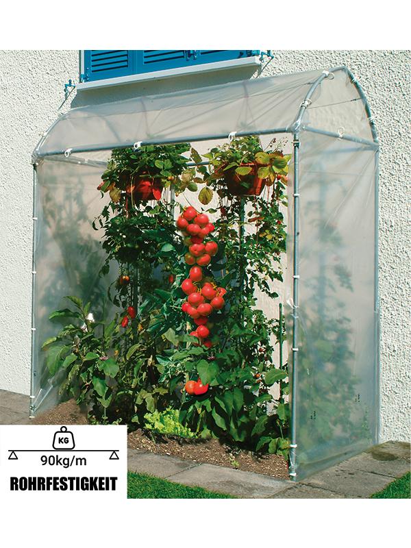 Brühwiler Tomatenhaus aus Stahl, direkt vom Hersteller
