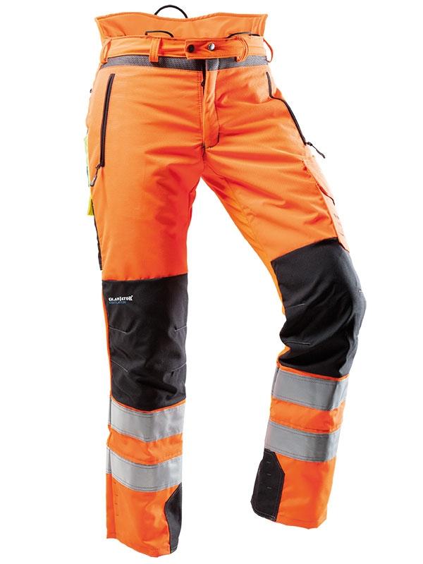 Pfanner ventilation schnittschutzhose 101761 orange for Bb shop
