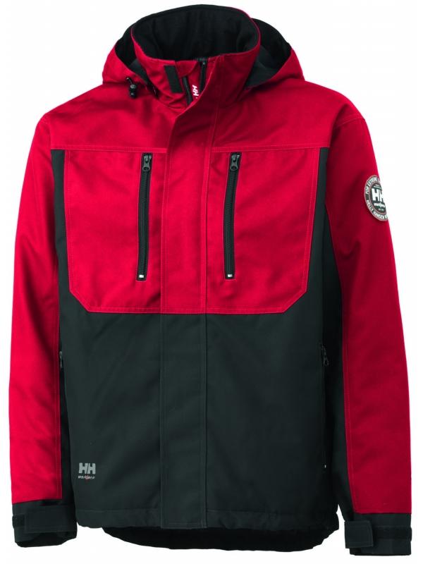 Helly hansen 76201 winddichte jacke berg rot schwarz for Bb shop