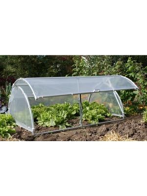 Gartenhaube-Frühbeet GH100-175, 100 x 175 cm aus Stahl