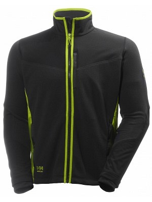 Helly Hansen 72170, Fleecejacke MAGNI, schwarz-dark lime
