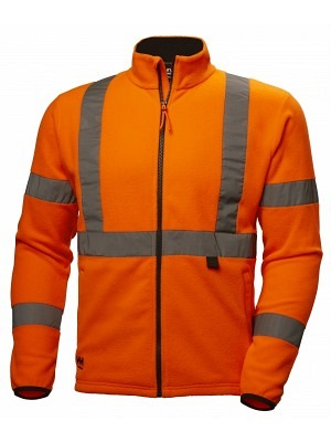 HellyHansen 72171 Warnschutz Fleecejacke EN ISO 20471, ALTA, orange