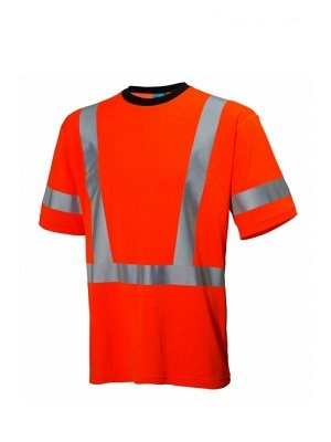 Helly Hansen 75035, Warnschutz T-Shirt EN20471 ESBJERG, orange