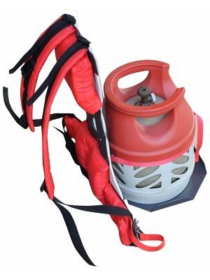 Unkrautvernichter Komfort-Rucksack zu InfraWeeder Junior & Eco