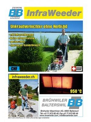 Prospekt InfraWeeder SFR Deutsch